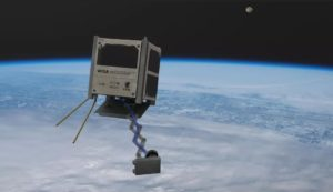 World's First Wooden Satellite.