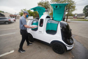 Domino's Pizza Delivers By Bot In Houston