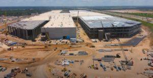 -Day 373 Of Austin  Tesla Gigafactory-
