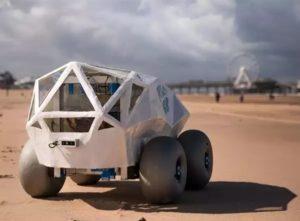 AI Beachbot Removes Cigarette Butts, Trash