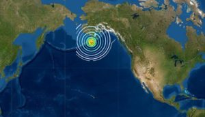 Pacific Tsunami Warnings, Big Quake In Alaska