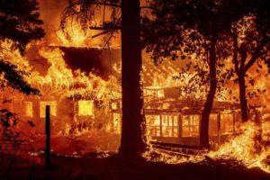 California Wildfires Burn Through Towns