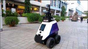 Singapore Robots To Patrol Public Areas