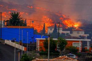 Volcano Erupts In Spain
