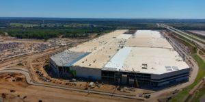 -Day 453 Of Austin  Tesla Gigafactory-